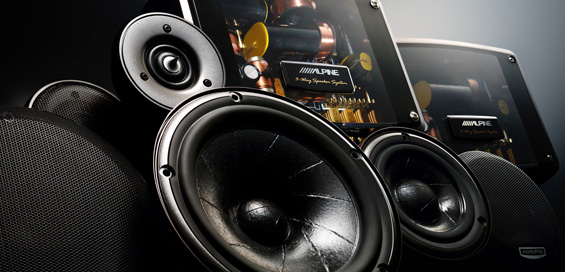 Audiosysteem van Zandbergen Automotive
